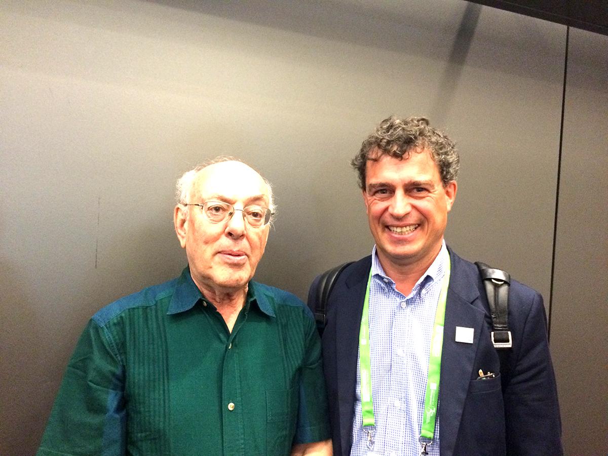 Prof. Dr. Henry Mintzberg  & Dr. Wilfried Drexler in Vancouver / Kanada.
